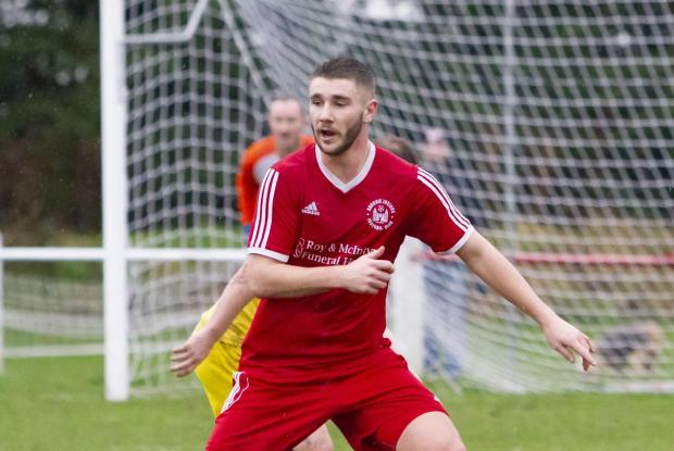 Alloa and Hillfoots Advertiser: David Cross opened the scoring with a fine finish
