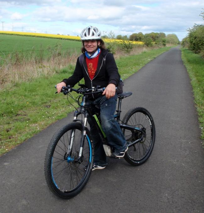 Scott Bamford takes up a post as active travel co-ordinator at Clackmannan Development Trust