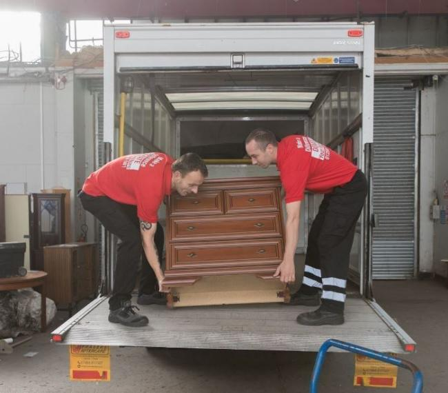 Furniture arrives at ACE