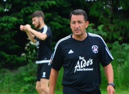 RARING TO GO: Sauchie gaffer Martin Mooney hopes his side will hit the ground running in the league this season. Picture by Jan van der Merwe
