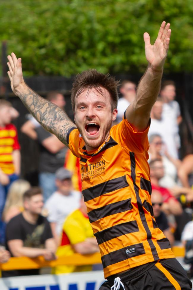 NO PUSHOVERS: Alloa settled for a draw in their opening day fixture against Partick Thistle. Pictures by John Howie