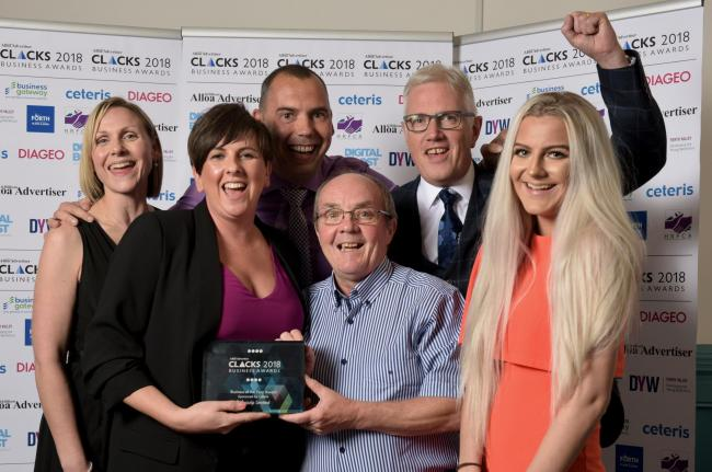The fifth annual Clacks Business Awards proved to be another huge success. Pictures by Jim Payne