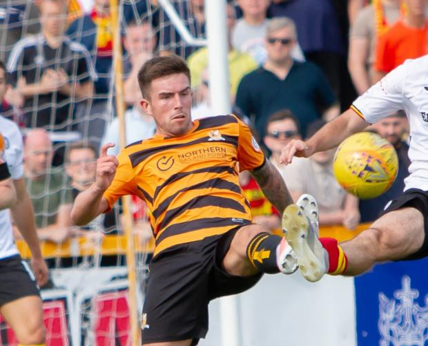 Alloa and Hillfoots Advertiser: Kevin O'Hara is one of a number of players whose future is still to be decided