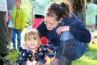 Around 20 people turned up to the Woodland Fun event earlier this month