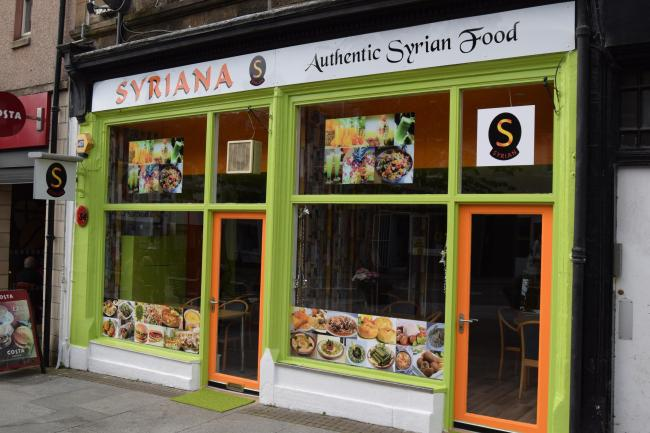 Syriana, a new Syrian restaurant, opened in Alloa last week