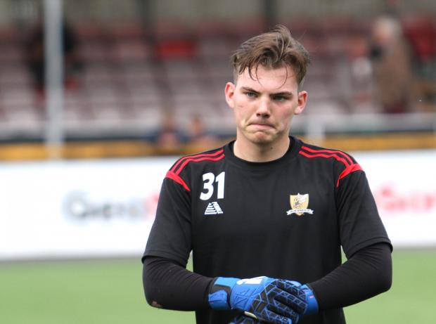 Alloa and Hillfoots Advertiser: Goalkeeper Chris Henry has moved on after two seasons in Clacks