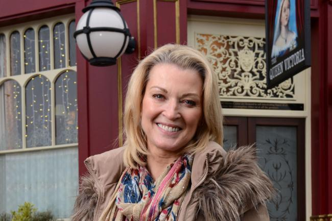 Gillian Taylforth as Kathy Beale in EastEnders