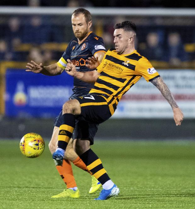 Alloa and Hillfoots Advertiser: A fine display from O'Hara wasn't rewarded with a goal