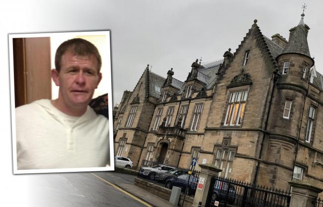 GUILTY: Foxton was remanded in custody after he was convicted at trial at Stirling Sheriff Court