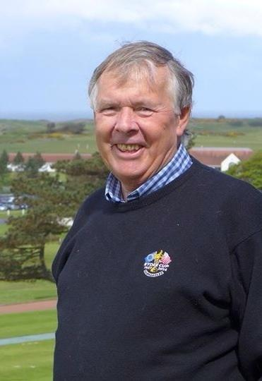 Hugh Hunter dedicated 50 years of his life to supporting golf in Clackmannanshire