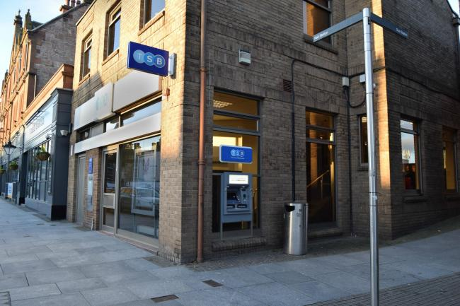 The TSB branch in Alloa