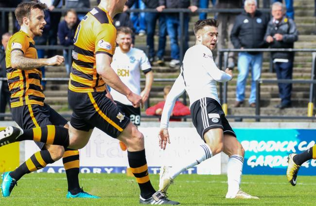 Alloa were unable to replicate last year's successful trips to Somerset Park