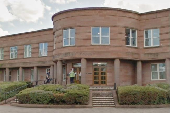 The man appeared at Falkirk Sheriff Court
