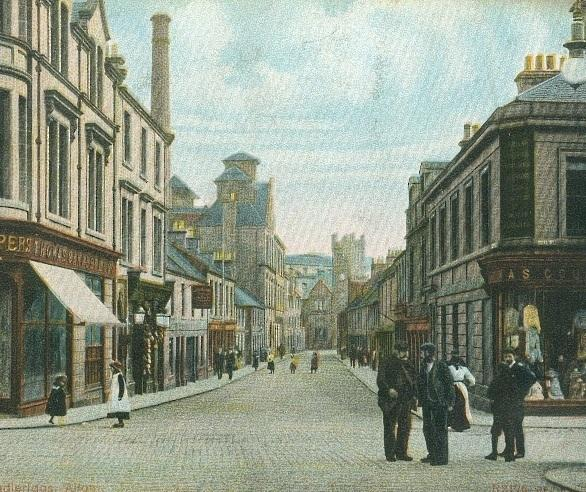 A VIEW INTO THE PAST: Alloa busy with shops back in the day