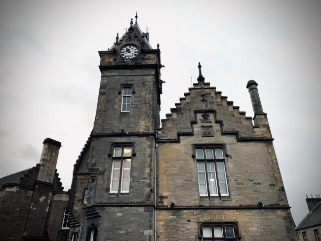 The case called at Alloa Sheriff Court