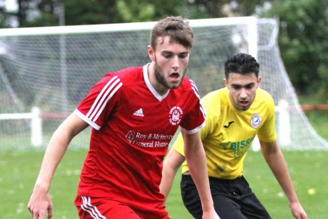 Ross Crawford's brace helped Sauchie to an important win