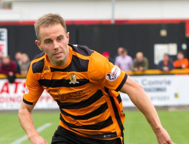 Alan Trouten has become one of Alloa's most important players since making the switch to Clacks in 2018