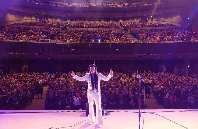 Glasgow's Armadillo was packed to see Johnny Lee's Elvis tribute act