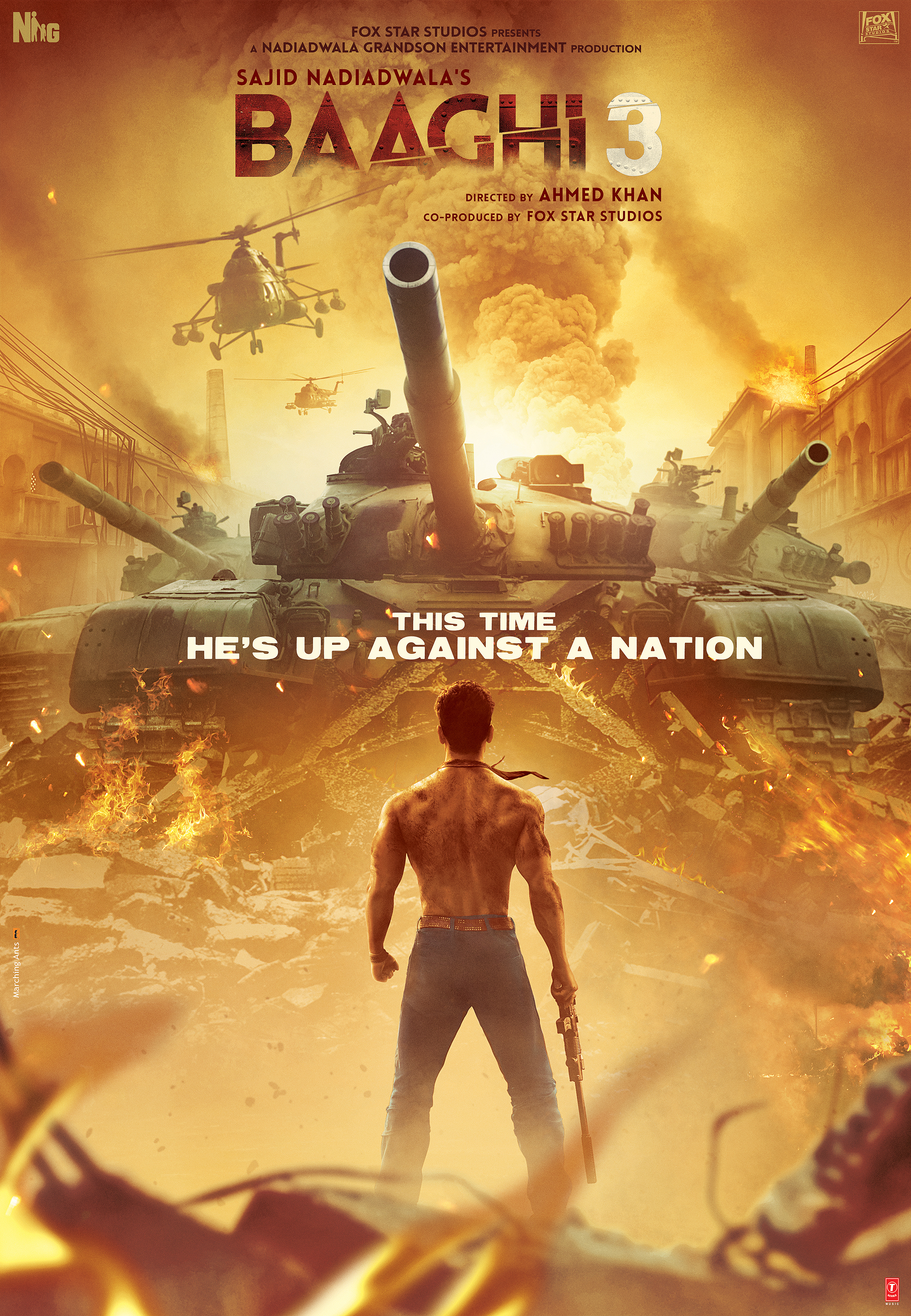 BAAGHI 3: RONNIE IS BACK & THIS TIME HE'S UP AGAINST A NATION