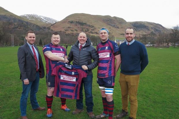 Tillicoultry Quarries continued their sponsorship of Hillfoots RFC
