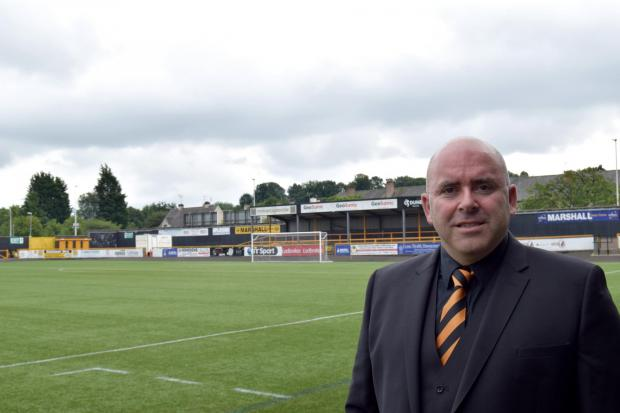 Alloa and Hillfoots Advertiser: Across Clacks, Alloa chairman Mike Mulraney has promised the Wasps will survive the coronavirus pandemic