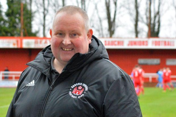 Karl Rennie hopes football bosses will support Sauchie Juniors if they are asked to play without fans