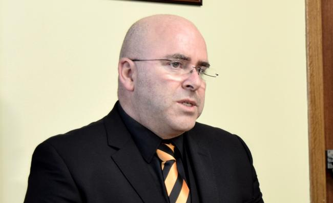Alloa chairman Mike Mulraney has stepped up to the role