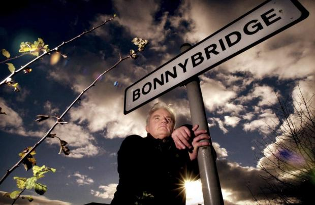 Alloa and Hillfoots Advertiser: Billy Buchanan photographed in UFO hotspot Bonnybridge. Picture: Gordon Terris/The Herald