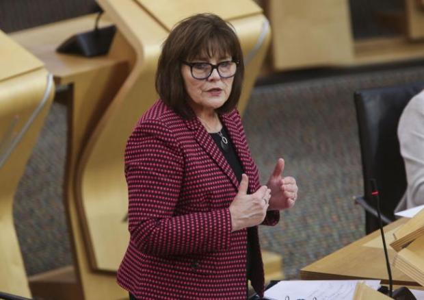 Alloa and Hillfoots Advertiser: Health Secretary Jeane Freeman