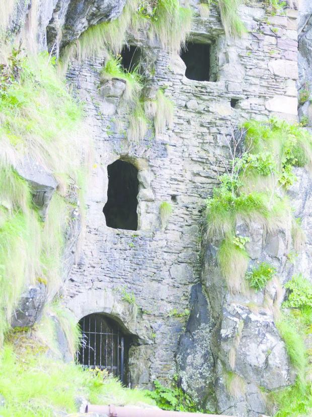 Alloa and Hillfoots Advertiser: Caves at Culzean Castle. Picture: National Trust for Scotland