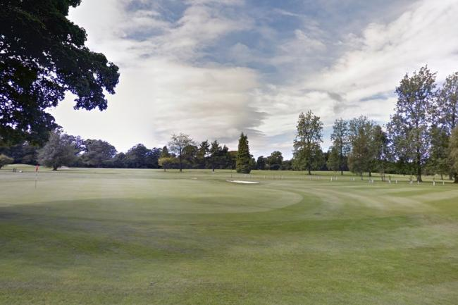 The 51-year-old male was walking his dog on Braehead Golf Course