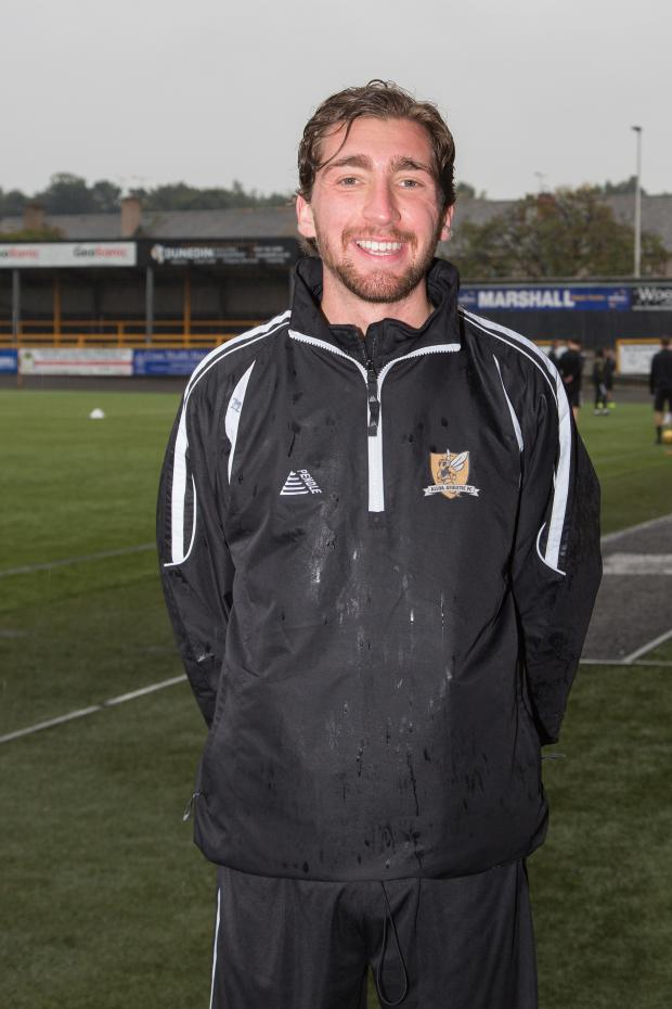 Alloa and Hillfoots Advertiser: Ray Grant joined his dad in Clacks this summer