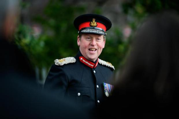 Alloa and Hillfoots Advertiser: Clacks Lord Lieutenant Johnny Stewart