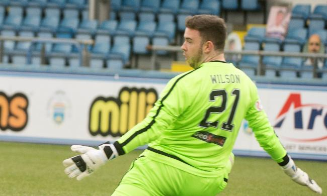 Reece Willison made his debut for Alloa against Morton on Saturday. Picture by Alex Craig