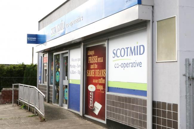 Scotmid confirmed there has been a confirmed case of Covid-19 at their shop at 55 Alloa Road