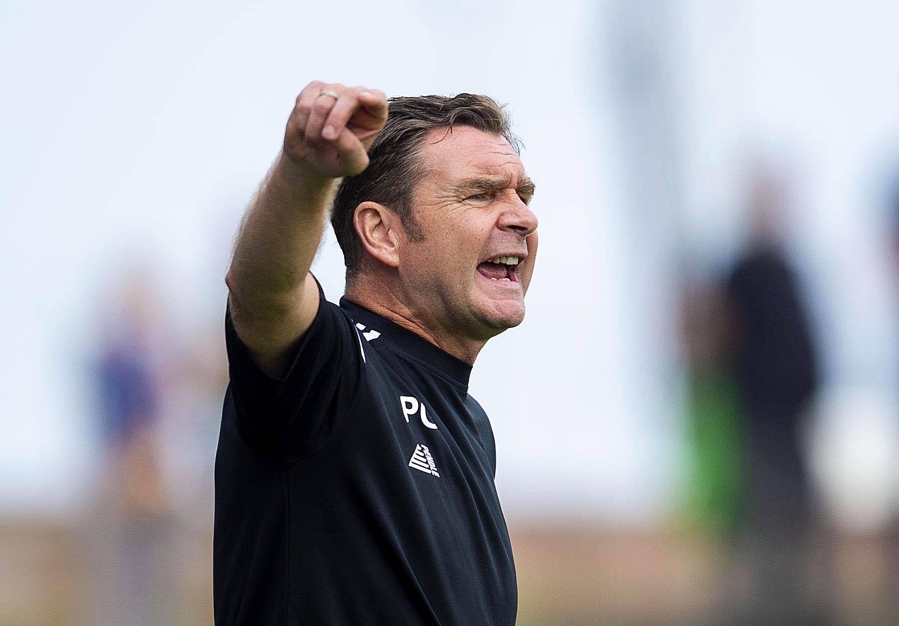 Grant admits Alloa deserved to lose Cove Rangers tie