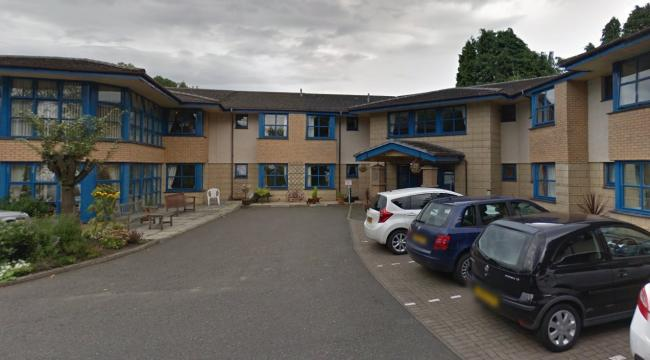 NHS Forth Valley confirmed a number of residents and staff have tested positive for coronavirus at Beechwood Park Care Home in Sauchie - Image via Google Maps/Street View