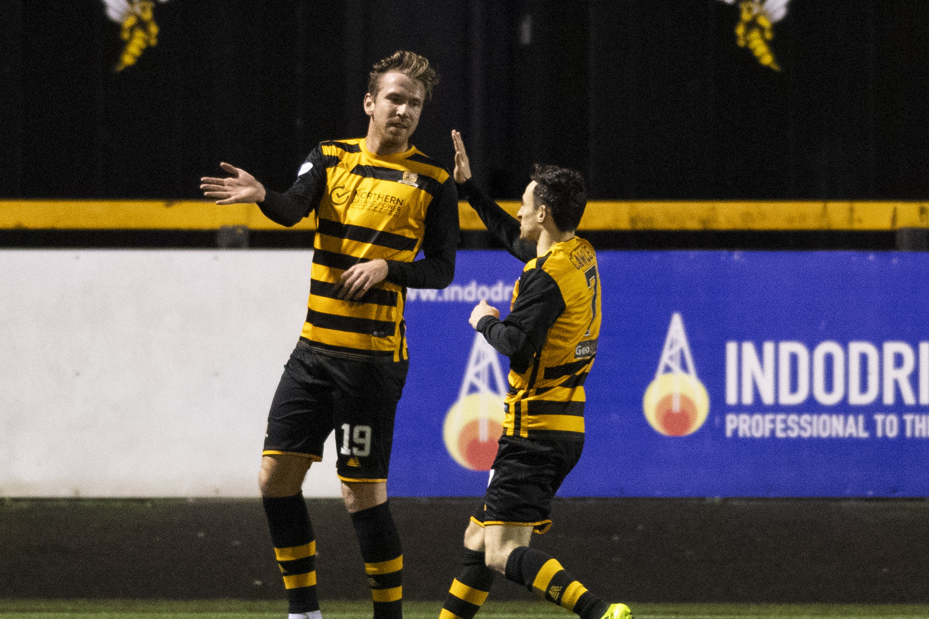 Alloa 2-1 ICT: Wasps into eighth with victory