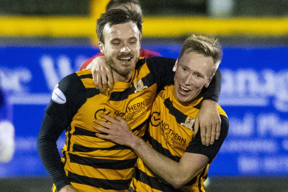 Practice makes perfect for Alloa's free kick specialist