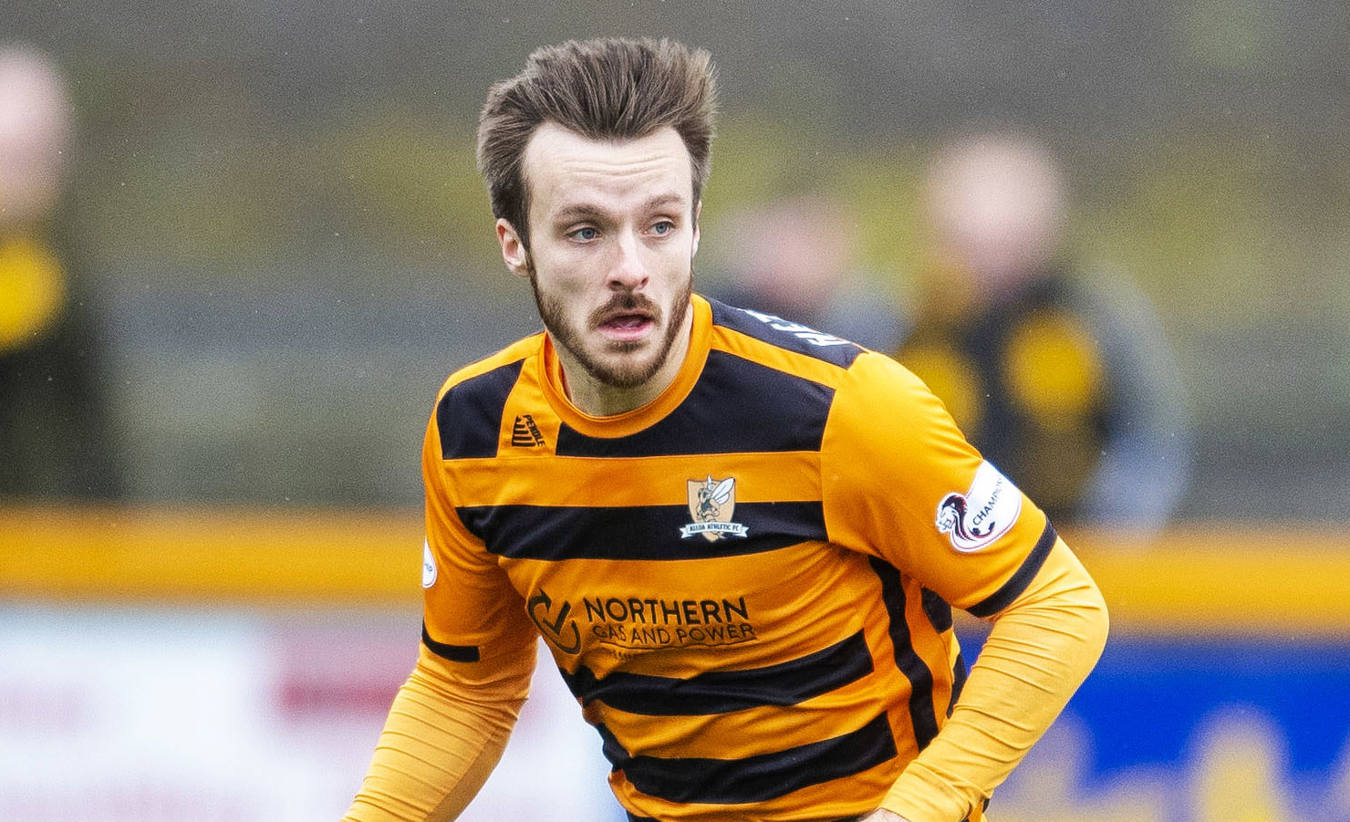 Alloa midfielder reflects on his side's 3-1 defeat to Hearts