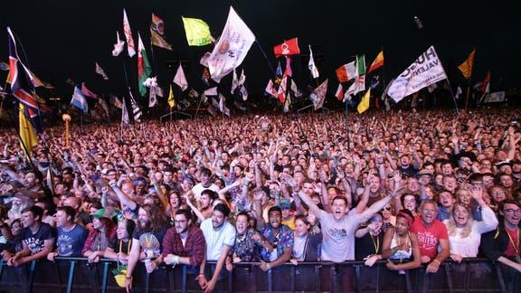 Alloa and Hillfoots Advertiser: Glastonbury. (PA)