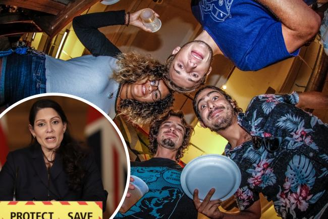 Turning up to a house party during lockdown could now cost you £800. (Canva/PA)
