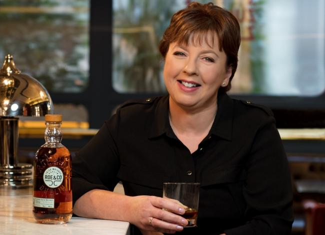 CHEERS: Master blender Caroline Martin is set to retire from Diageo in Menstrie after 35 years