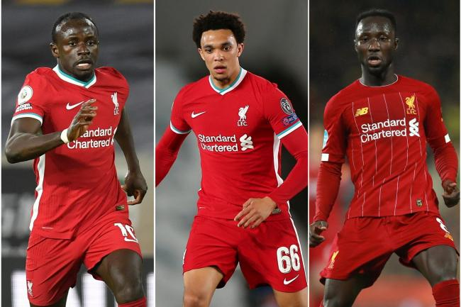 Sadio Mane, Trent Alexander-Arnold and Naby Keita were all subjected to racist abuse on social media