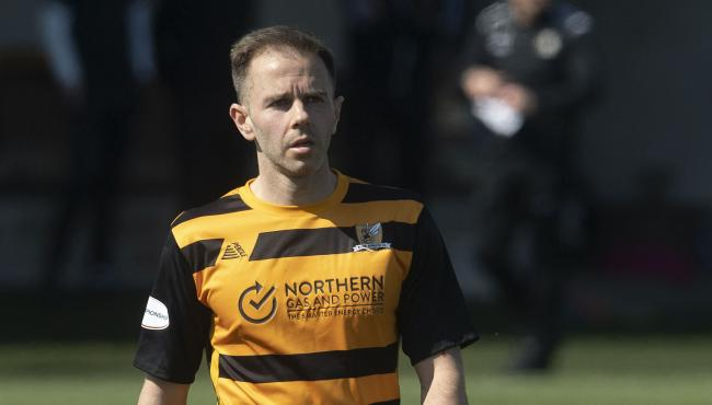 Alan Trouten in action for Alloa against Raith Rovers at the weekend. Picture by SNS Group/Craig Foy