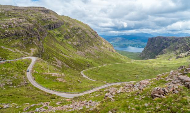 Alloa and Hillfoots Advertiser: Bealach na Ba on the Applecross peninsula in Wester Ross. Picture: iStockphoto/PA