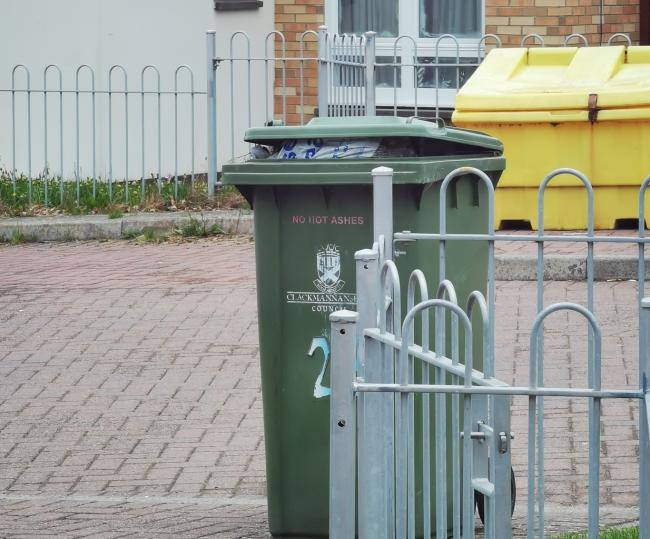 The resident was left frustrated after the service refused to take the bin