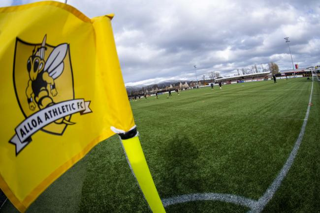 ALLOA, SCOTLAND - FEBRUARY 29: A general view of the Indodrill Stadium ahead of the Championship match between Alloa Athletic and Ayr United at the Indodrill Stadium on February 29, 2020, in Alloa, Scotland (Photo by Bill Murray / SNS Group)