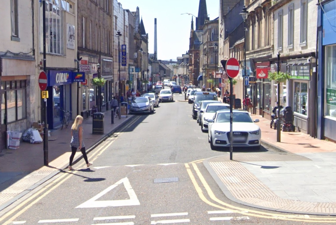 One-way system on Alloa road is reversed