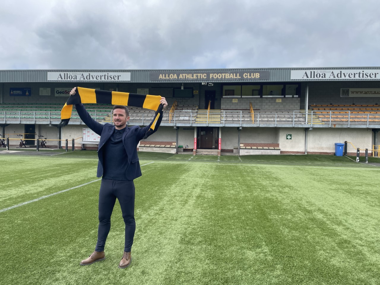 Barry Ferguson confirmed as Alloa Athletic manager
